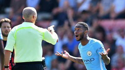 'Maybe we should play with no fans' - Guardiola bemused by Sterling sending off