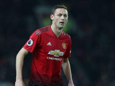 Man United's Nemanja Matic out vs. Liverpool, could miss month - sources