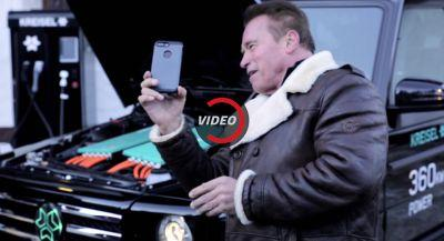 Arnold Is Back, With An All-Electric Mercedes G-Wagon