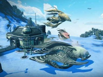 No Man's Sky update delivers crazy-looking living ships