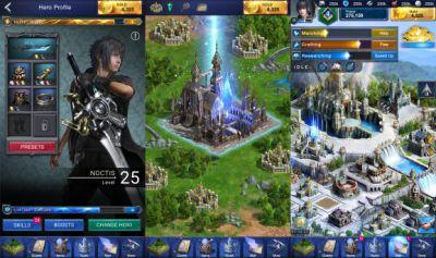 Final Fantasy XV: A New Empire turns the console RPG into a generic mobile game