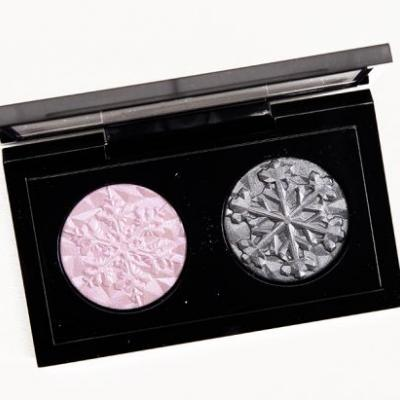 MAC Smoky Pink Snow Ball Eye Bag Review, Photos, Swatches