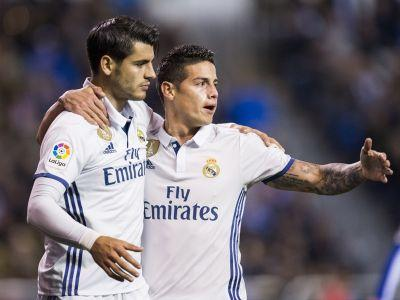 'Amazing Morata will do very well at Chelsea' - James hails fellow ex-Real Madrid star