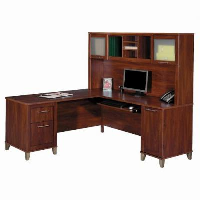 30 Beautiful Wood L Shaped Computer Desk Images