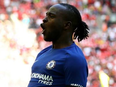 Chelsea's Victor Moses scores first English Premier League goal of the season