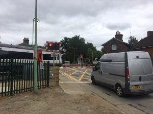 Completed Level Crossing Upgrade Work on the Felixstowe Branch Line Improves Safety for all