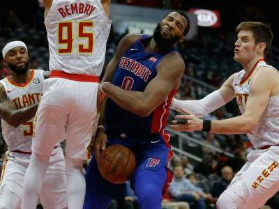 Drummond's big night helps Pistons snap losing-streak vs. Hawks