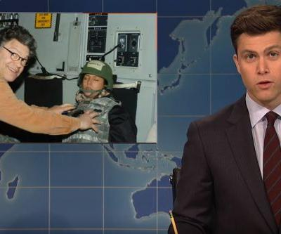 'Saturday Night Live' skewers Al Franken's creepy behavior