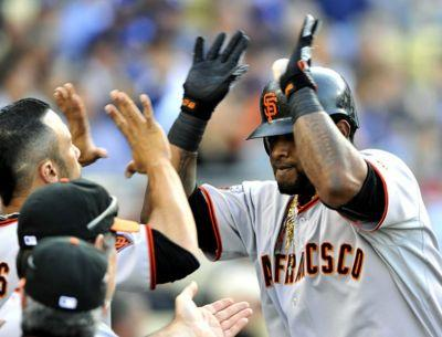 3-time World Series champion Pablo Sandoval returns to San Francisco Giants
