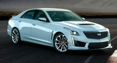 Cadillac Paints Limited CTS-V In Special Light Grey To Celebrate 115 Years