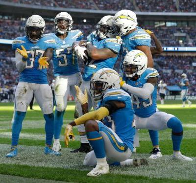 Los Angeles Chargers make powder blue jerseys primary home uniform for 2019 season