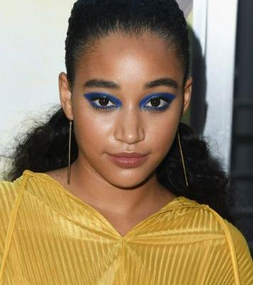 Amandla Stenberg Masters Wet Hair With the Help of Jumbo Bobby Pins