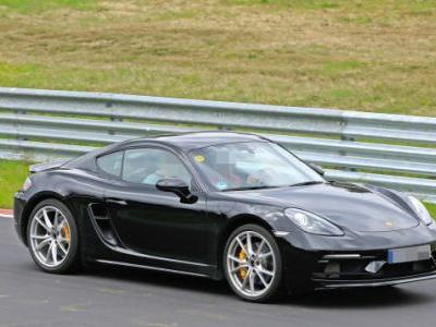 Six Cylinder Porsche 718 Boxster and Cayman Touring Models Spied Testing