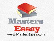 Masters Essay: Freelance Essay Writer- Work from home