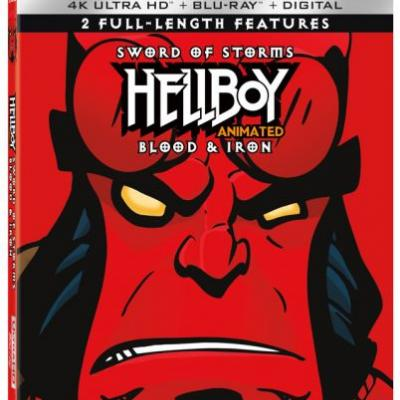 'Hellboy Animated: Sword of Storms and Blood & Iron' 4K Ultra HD Double-Feature Announced