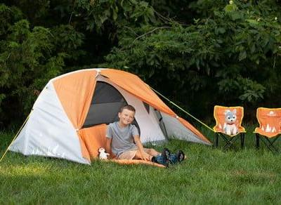 Get $84 in savings with Walmart's sale on the Ozark Trail kid's camping tent