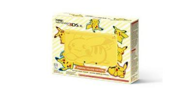 The Pikachu Yellow Edition New Nintendo 3DS XL is coming west