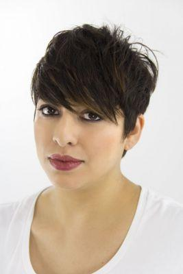 Get the Look: Ruth Roche Pixie Cut for Sam Villa