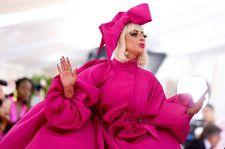 See Lady Gaga's Extravagant 4-in-1 Met Gala Look, From Pretty in Pink to Black Lingerie