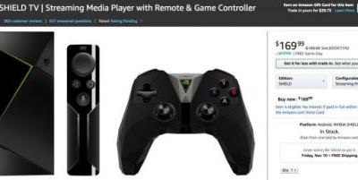 NVIDIA Shield TV gets discounted to a very reasonable $170