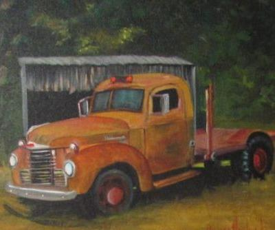International Truck, vehicle, Barbara Haviland