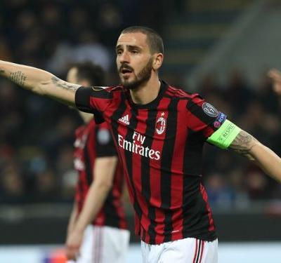 Bonucci admits Milan were 'scared' in Arsenal defeat