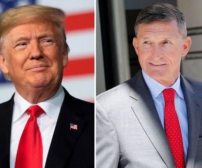 Trump wishes Michael Flynn 'good luck' on sentencing day