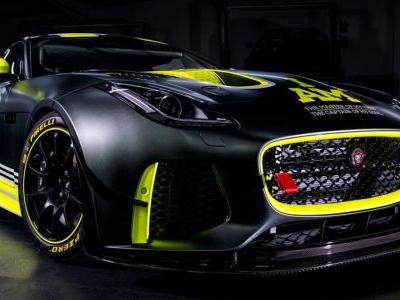 Jaguar Developed This F-Type SVR GT4 For Wounded Warriors