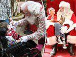 Santas make special trips to malls across US to give autistic kids a sensory-friendly experience