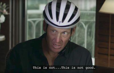 The trailer for the new bike-racing mockumentary 'Tour de Pharmacy' stars Andy Samberg and has a cameo by Lance Armstrong, and it looks kind of sad