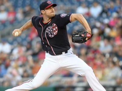 MLB wrap: Max Scherzer first to 10 wins, throws immaculate inning