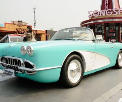 This Old Corvette Is Actually A New Chinese Plug-In Hybrid