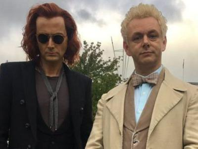 SDCC 2018: GOOD OMENS Plays Coy With God