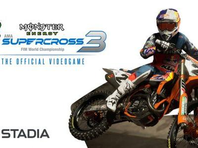 Monster Energy Supercross 3 Lands On Stadia Today