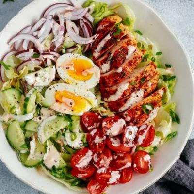Chicken Salad with Mayo Dressing