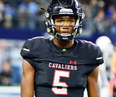 5-Star WR Garrett Wilson: Oklahoma, Notre Dame Tried to Steal Me from Ohio State