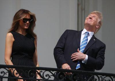 The President Who Looked at the Sun