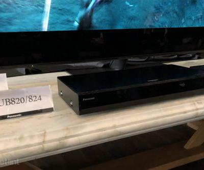 Panasonic DP-UB820 Ultra HD Blu-ray player delivers Dolby Vision, HDR10+ and Alexa voice control