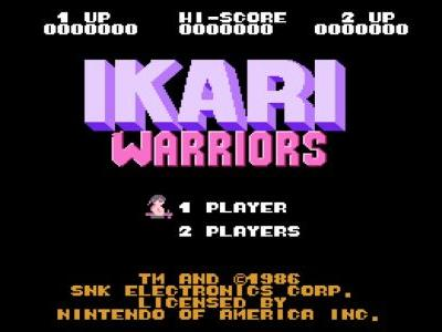 The Ikari Warriors Trilogy is Coming to Nintendo Switch