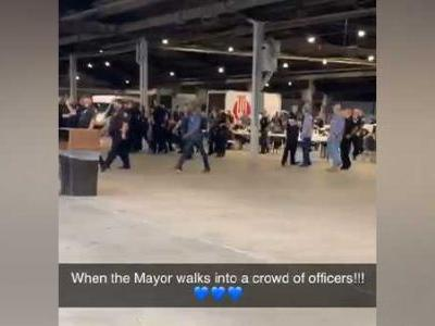 VIDEO: LMPD officers say they walked out on Mayor Fischer in protest