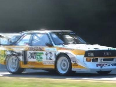 Christmas Has Come Early With This 760bhp Audi Quattro's 5-Pot Noise