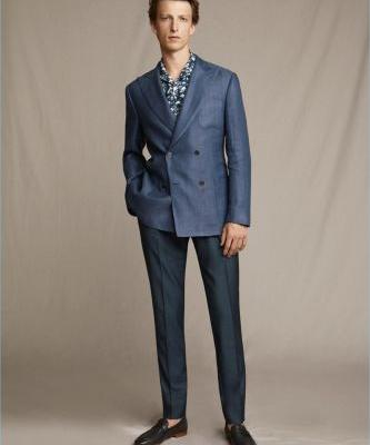 Corneliani Delivers Sartorial Style for Spring '19 Collection