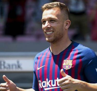 Valverde happy with Arthur's goalscoring debut