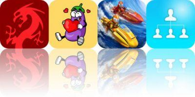 Today's Apps Gone Free: Tsuro, Eggplant Stickers, Riptide GP2 and More