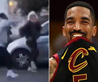 J.R. Smith beats up alleged vandal during George Floyd protests