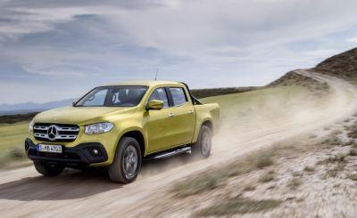 Benz with a Bed: The Mercedes-Benz X-class Pickup Truck Is Here
