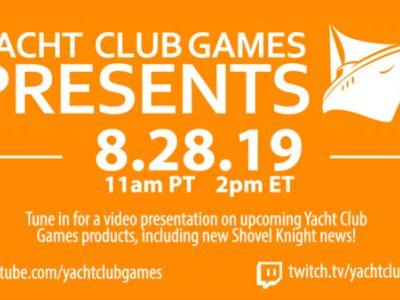 Yacht Club hosting PAX West 2019 presentation, will showcase Cyber Shadow, Shovel Knight: King of Cards/Showdown, and a new game