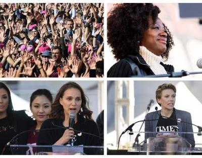 Women's March: Read stirring speeches from Viola Davis, Natalie Portman and other Hollywood stars