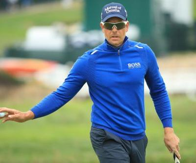 US Open: Henrik Stenson takes part in unusual photo op after hitting fan with golf ball
