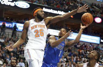 Rookies lead way as Knicks make easy work of Mavs, 118-106